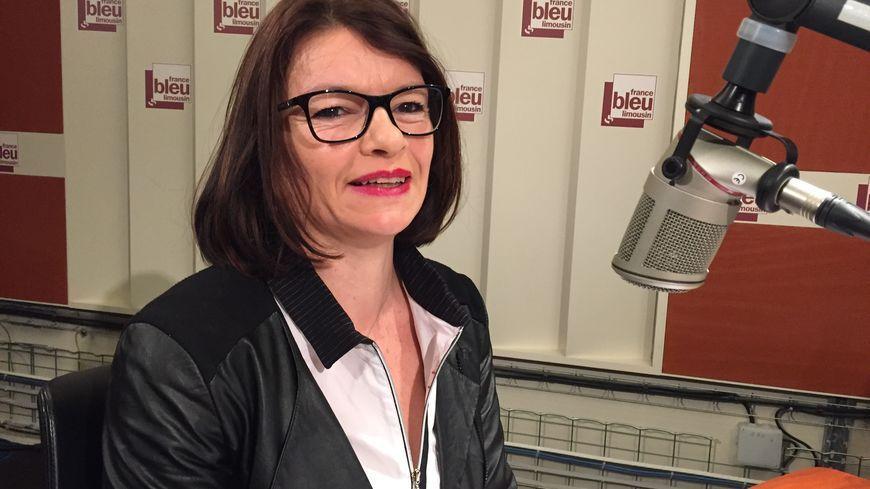 Florence Metge, secrétaire générale de la CGT au CHU Limoges © Radio France - Régis Mazabraud