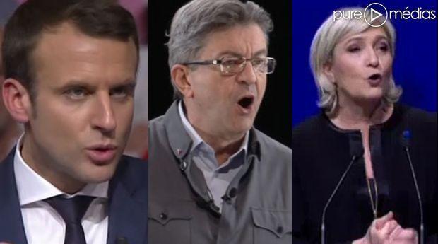 Audiences TV des meetings de Lyon : Mélenchon loin devant Le Pen et Macron