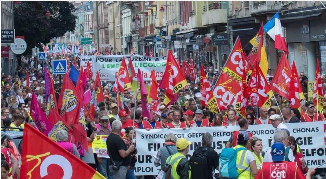 Nouvelle manifestation à Belfort le 19 octobre pour sauver l'emploi et l'industrie, les communistes mobilisés !
