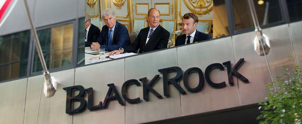 E. Macron avec ses amis de BlackRock