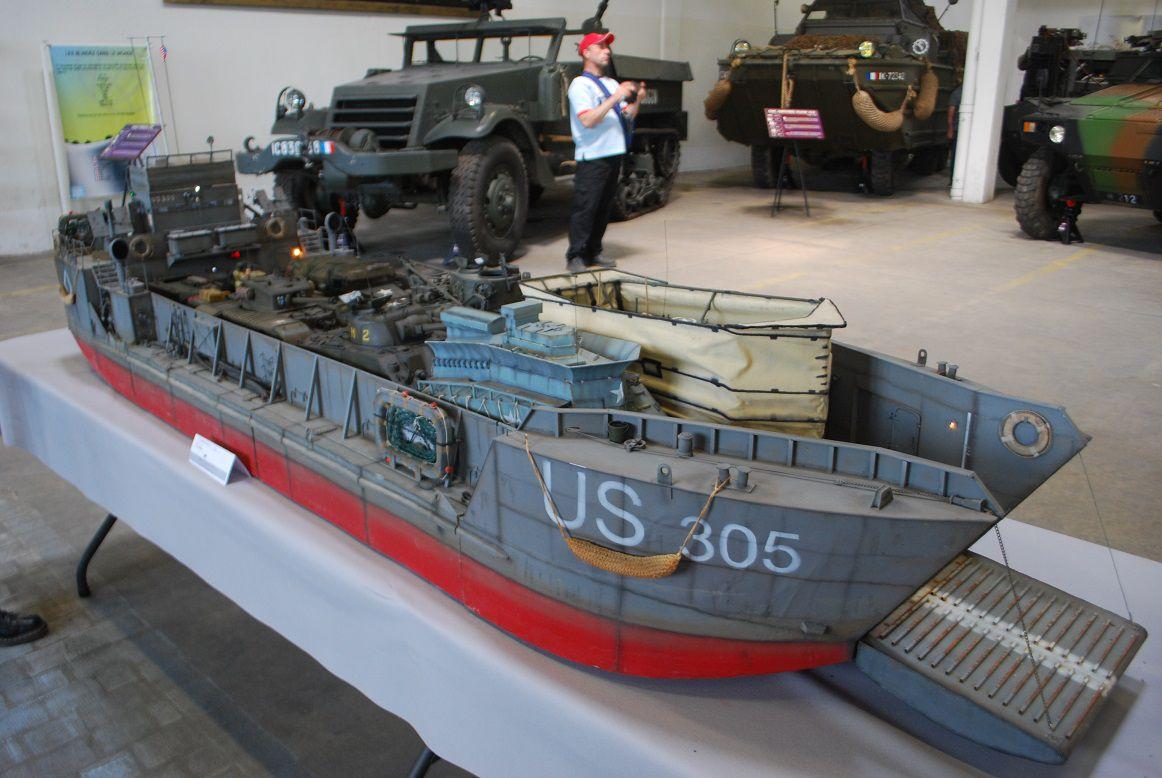 crédit photos alain Chaussade - maquette WWI - WWII - Guerre froide -