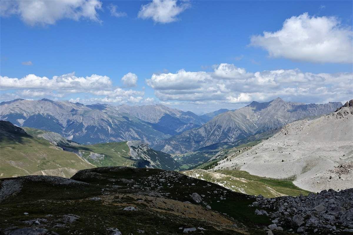Tête de l'Empeloutier, Le Jas du Chamois, Le Mourre Haut, Le Restefond