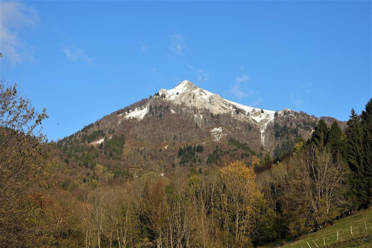 Pic de la Sauge , Pointe de la Galoppaz et Mont Céty
