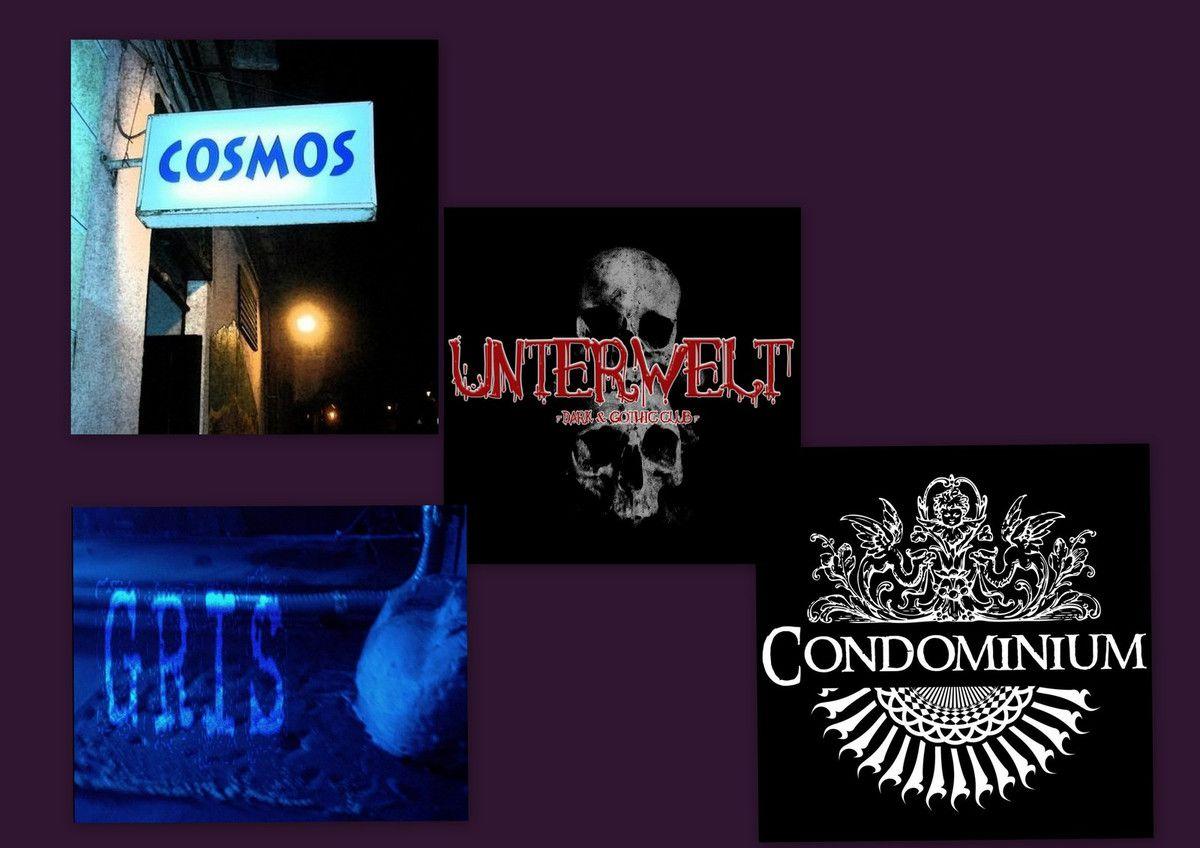 Bares de New Wave, Post punk, Gothic Rock en Madrid