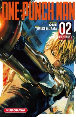 One-Punch Man, t. 02 : Le Secret de la Puissance, de One et Yusuke Murata