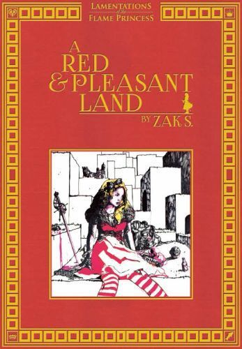 Lamentations of the Flame Princess : A Red & Pleasant Land