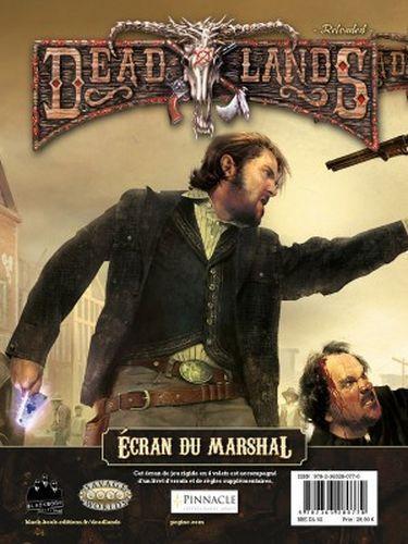 Deadlands Reloaded : Ecran du Marshal