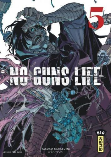 No Guns Life, vol. 3, 4 et 5, de Tasuku Karasuma