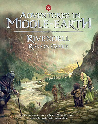 Adventures in Middle-Earth : Rivendell Region Guide