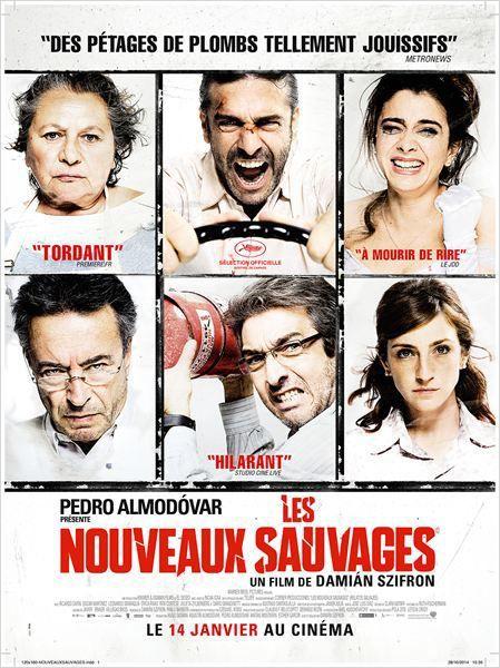 """Les Nouveaux sauvages """"Relatos salvajes"""""""