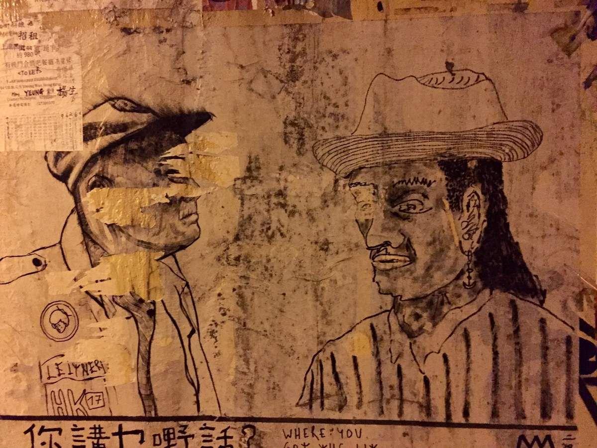 Entre Sheung Wan et HKU