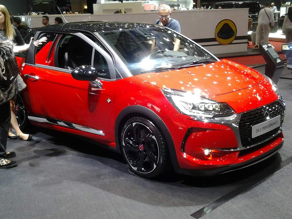 DS 3 Performance (2016).