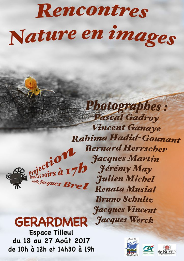 EXPOSITION PHOTOS NATURE