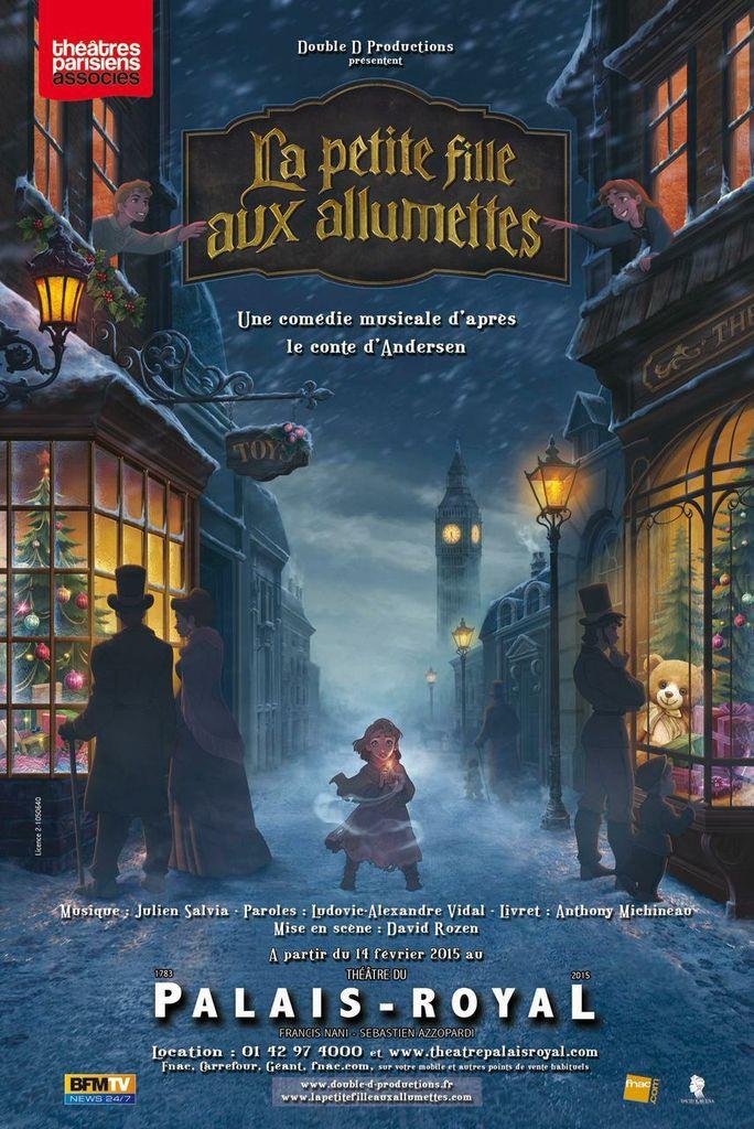 La Petite Fille aux Allumettes, une comédie musicale d'après le conte d'Andersen