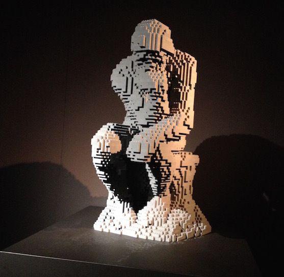The Art of The Brick - Lego / Lascaux à Paris [Expositions à voir en famille]