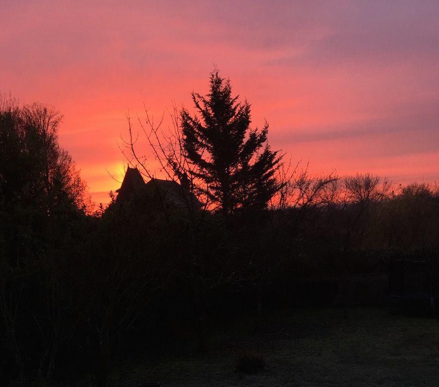 Décembre et ses sublimes levers de soleil