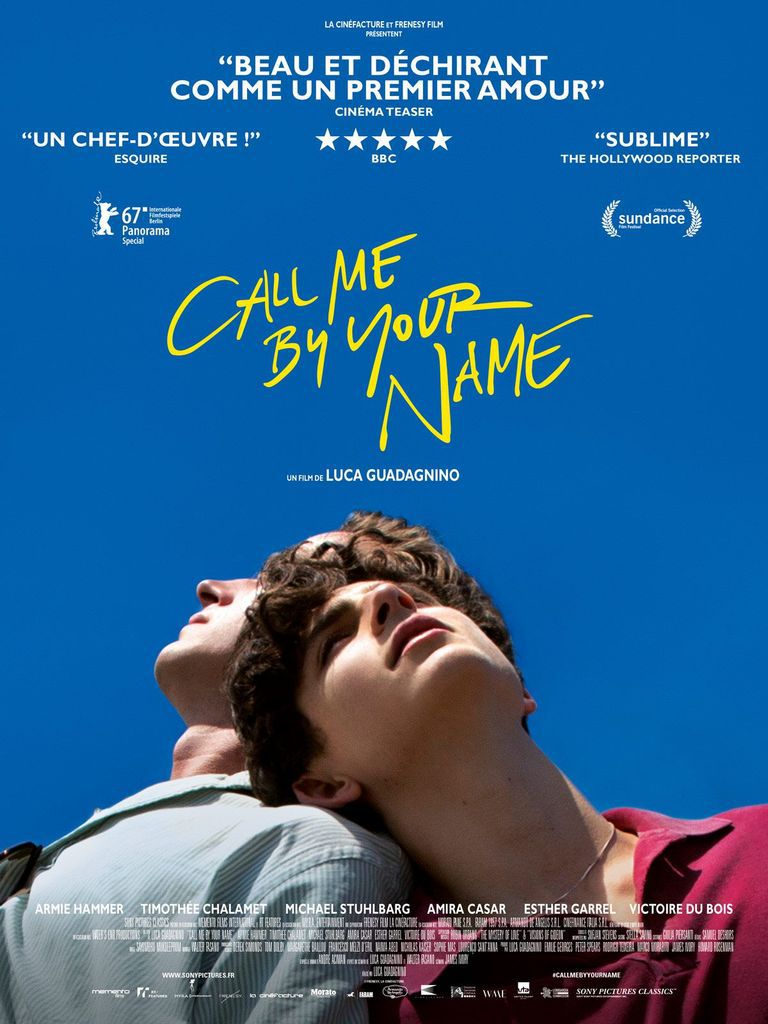 Call me by your name, Lady Bird / Revue de films