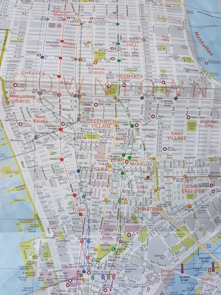 Concocter un programme - New York City / Carnets de voyage 2
