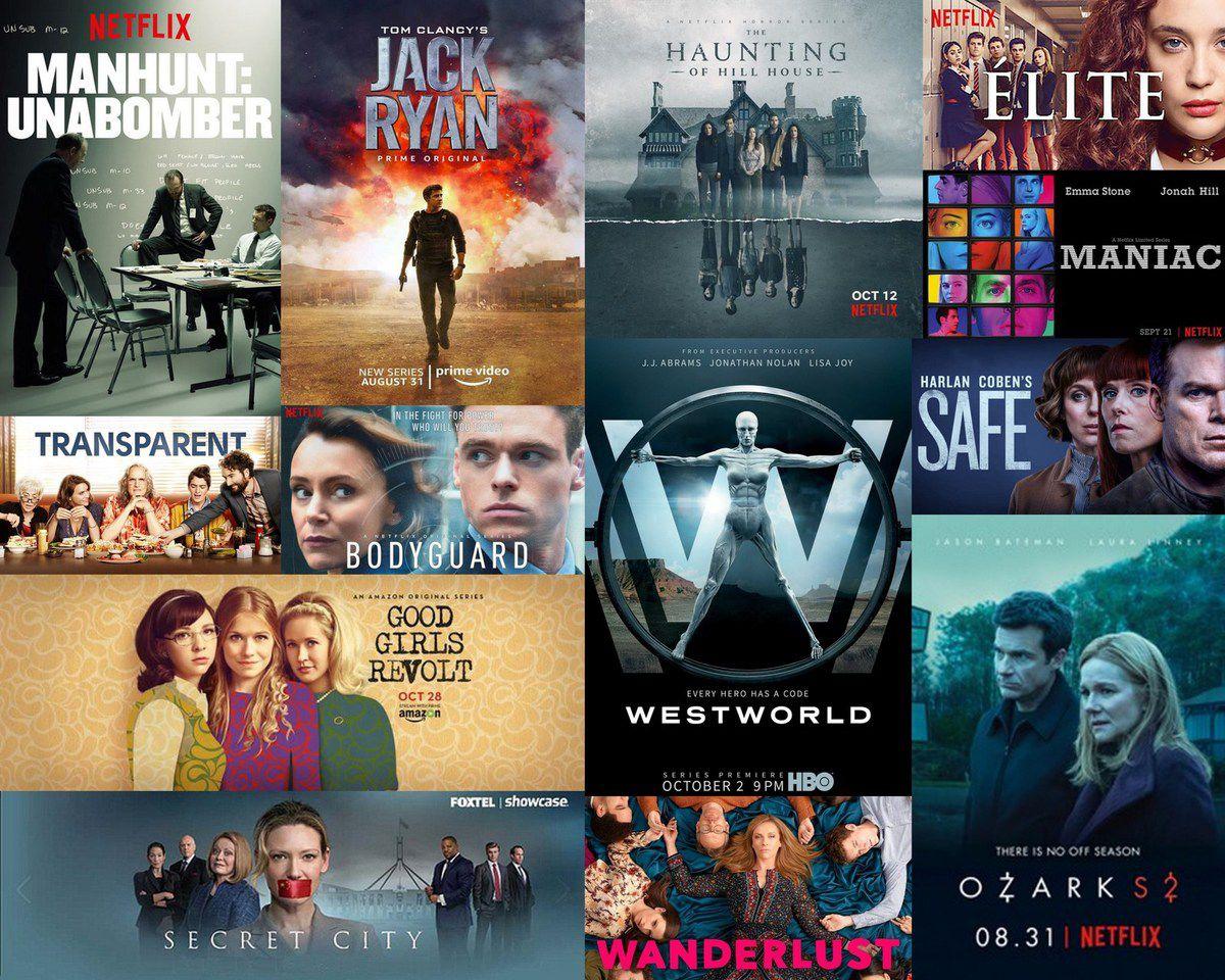 Séries en série / Netflix, Amazon Prime, OCS...