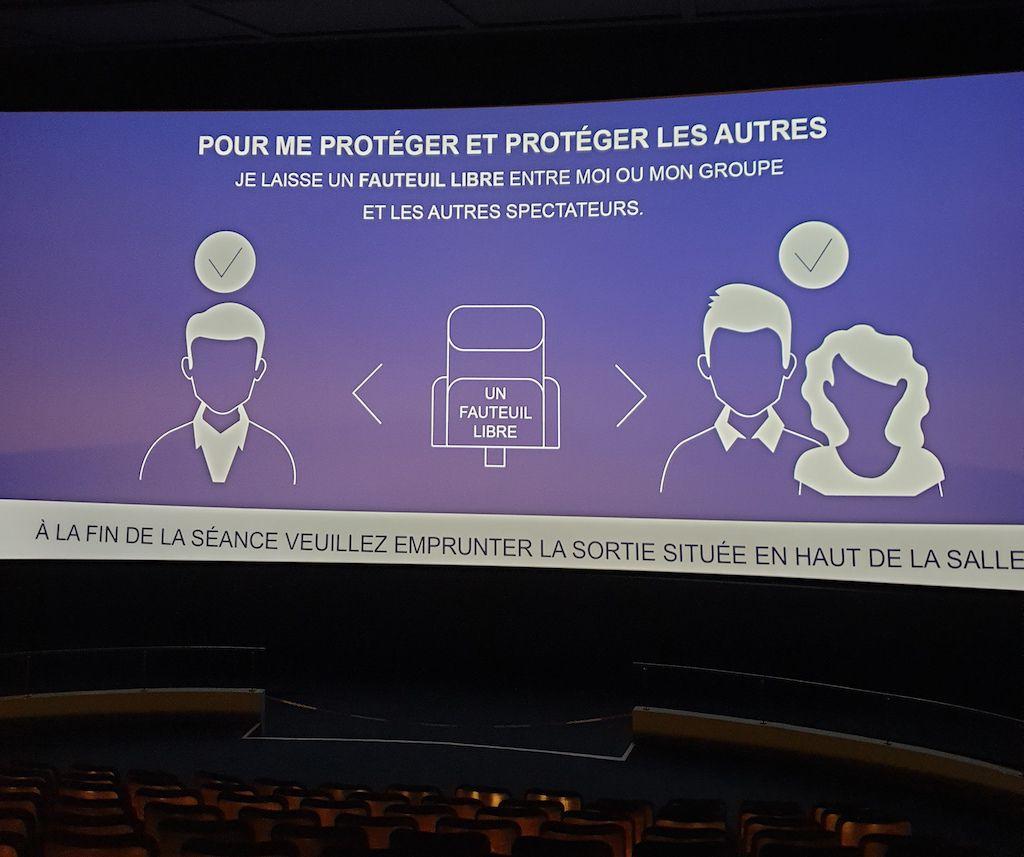 Aller au cinéma et au musée / La vie en pandémie