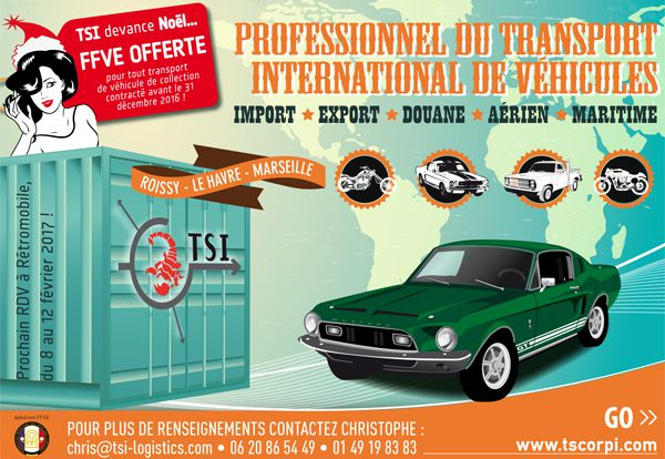 TSI Tran Scorp International devance Noël