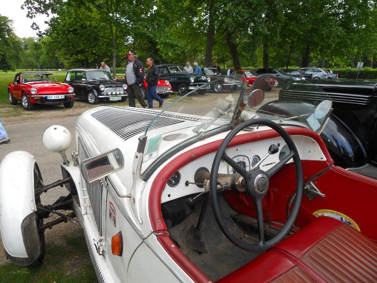 Plus ADLER que TRUMPF, mais TRUMPF tout de même, et  JUNIOR en plus, un véhicule plutôt rare en France.