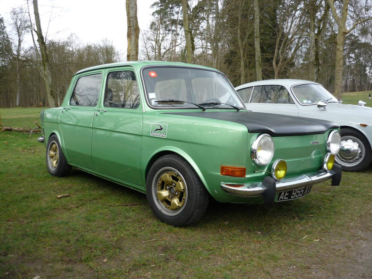 LES BERLINES ABARTH SIMCA 1000