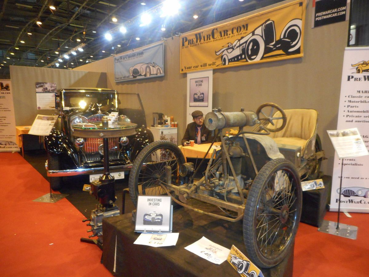 Salon RETROMOBILE 2017 les grands moments