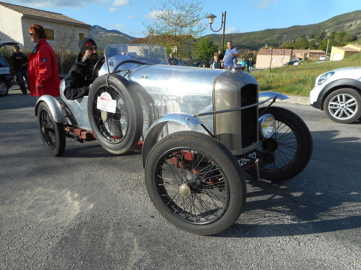 CONDORCET - Rallye CycleCars & Grand Sport - 15 & 16 AVRIL 2017 près de Nyons dans la Drôme(26)