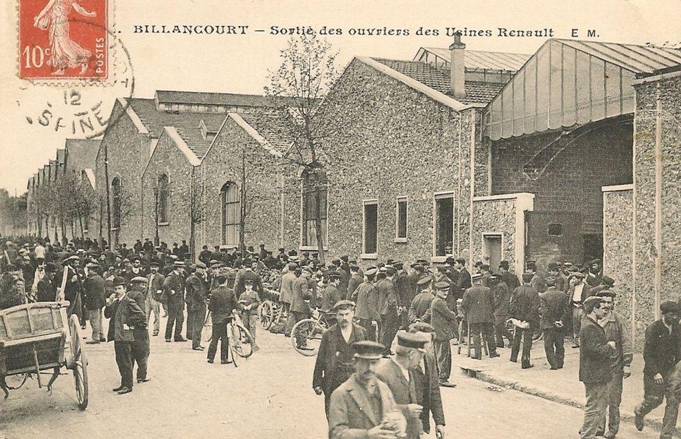 VESTIGES USINE RENAULT Boulogne Billancourt