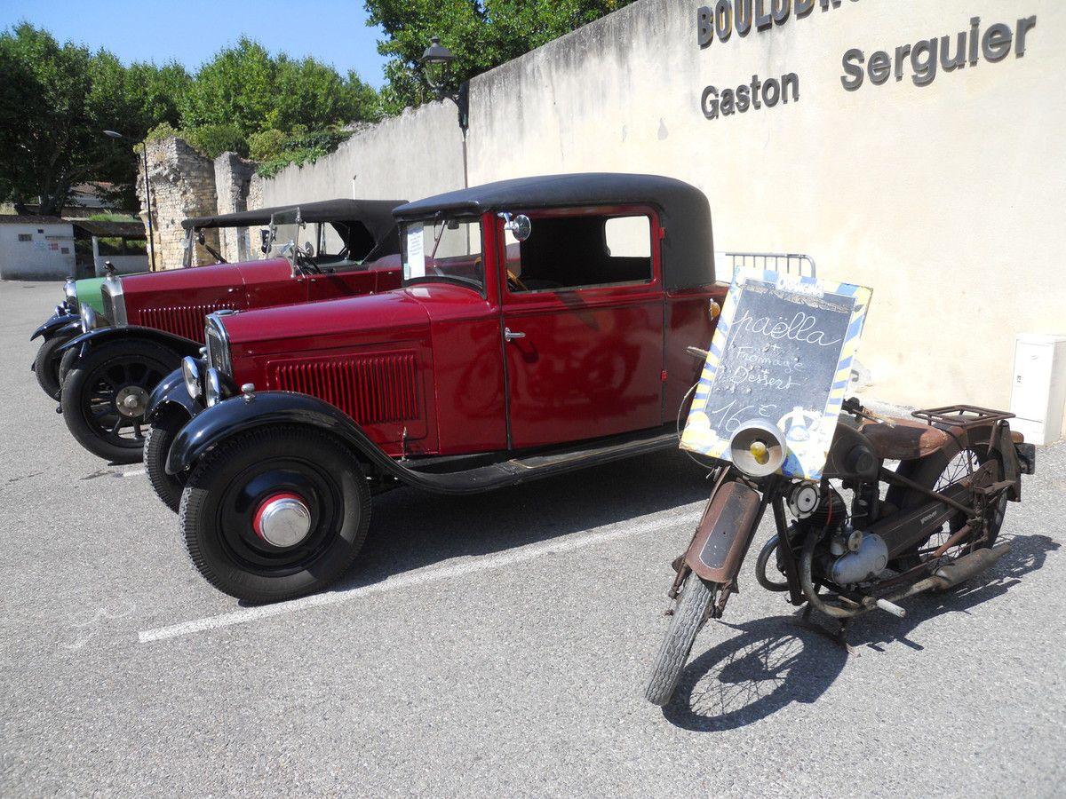 Un 18 JUIN à CADEROUSSSE pour des autos d'avant 40