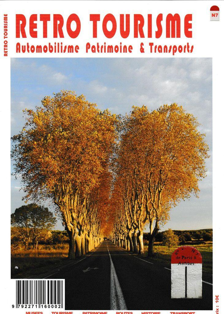 Sortie du n°7 du magazine RETRO TOURISME