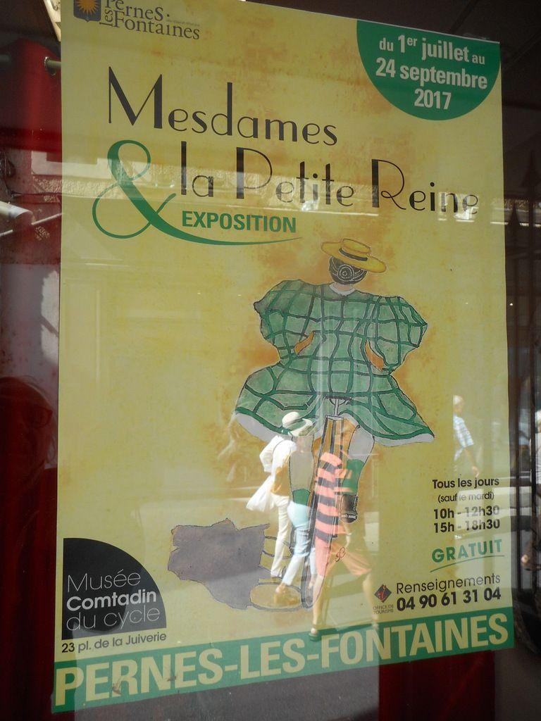 LES RENDEZ-VOUS DE LA REINE visitent le Conservatoire du Patrimoine Sportif de CARPENTRAS