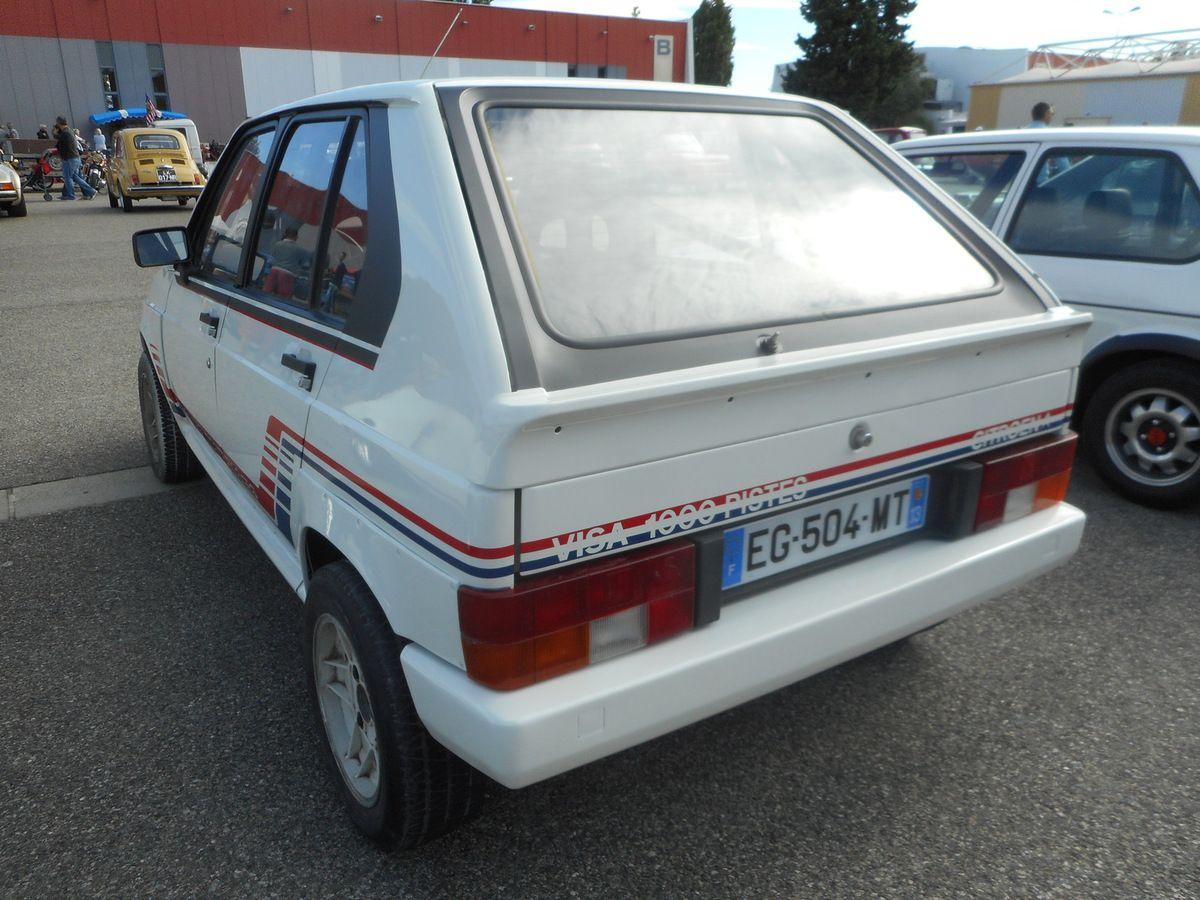 Les Tiroirs de l'inconnu  Citroën VISA Lotus (1982)