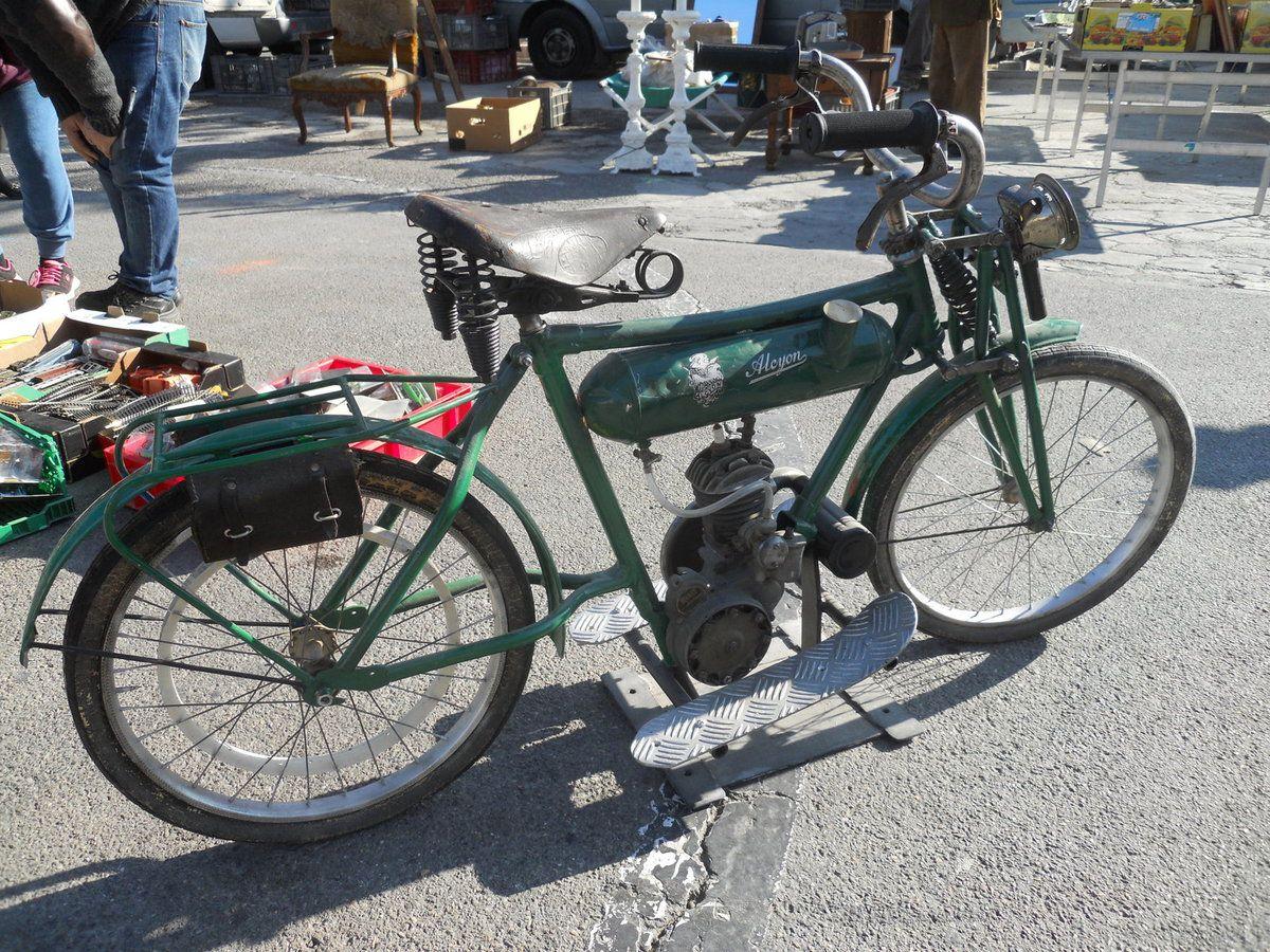 ALCYON TERROT - Brocante et découverte d'un intéressant 2 roues.