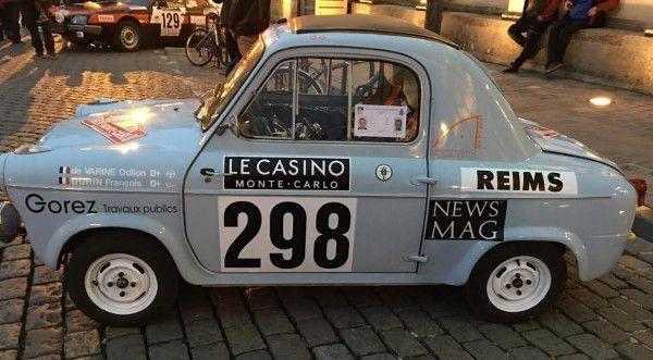 Rallye Monte Carlo Historique le 21ème  Du 31 janvier au 7 février 2018