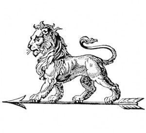 Le LION ornement automobile
