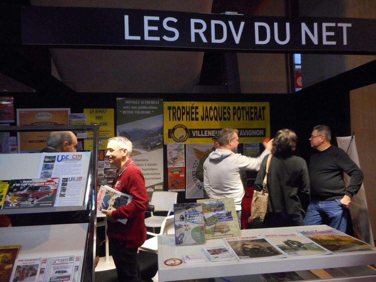 RETROMOBILE 2018 –Un véritable espace de partages avec « Les RDV du NET » 7-11 février 2018 Paris Expo Porte de Versailles