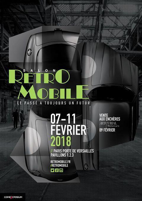 17 et 18 MARS 2018 à TOURS (37) – SALON AUTO MOTO RÉTRO VINTAGE avec l'Association des amis de ROLLAND PILAIN