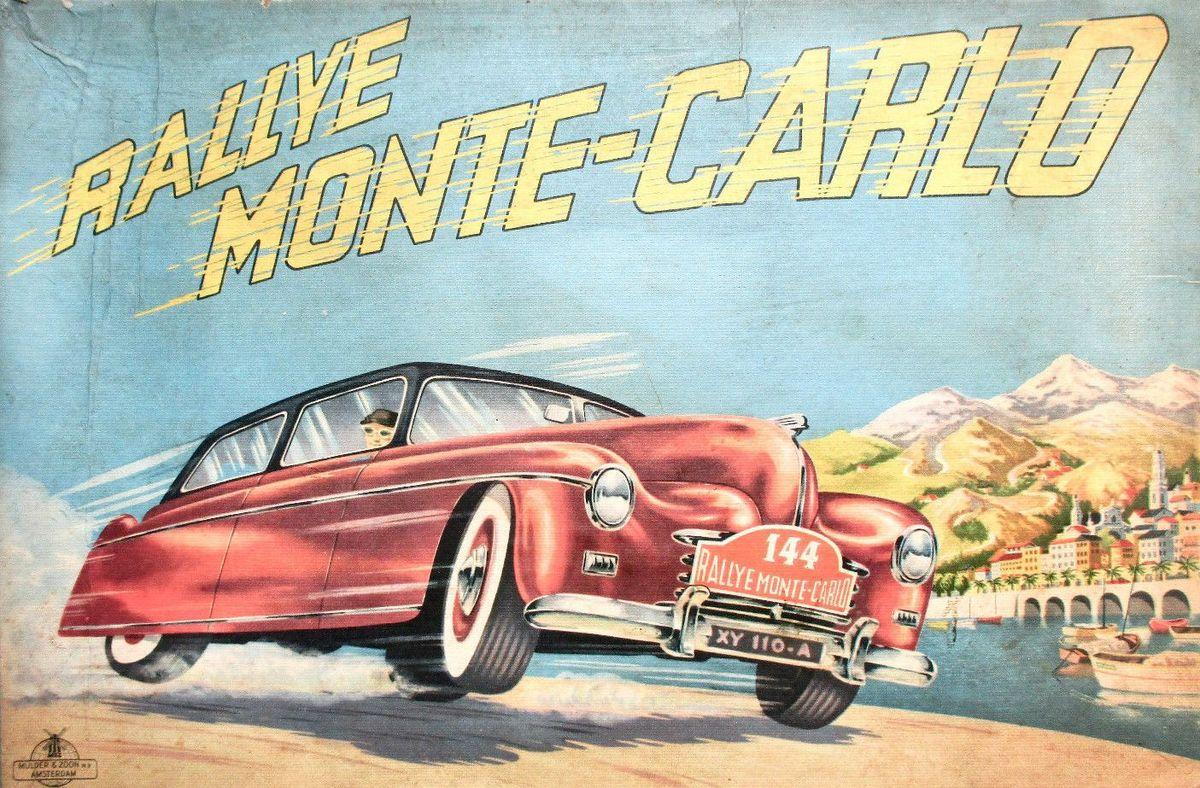 21ème Rallye Monte-Carlo HISTORIQUE En route  !