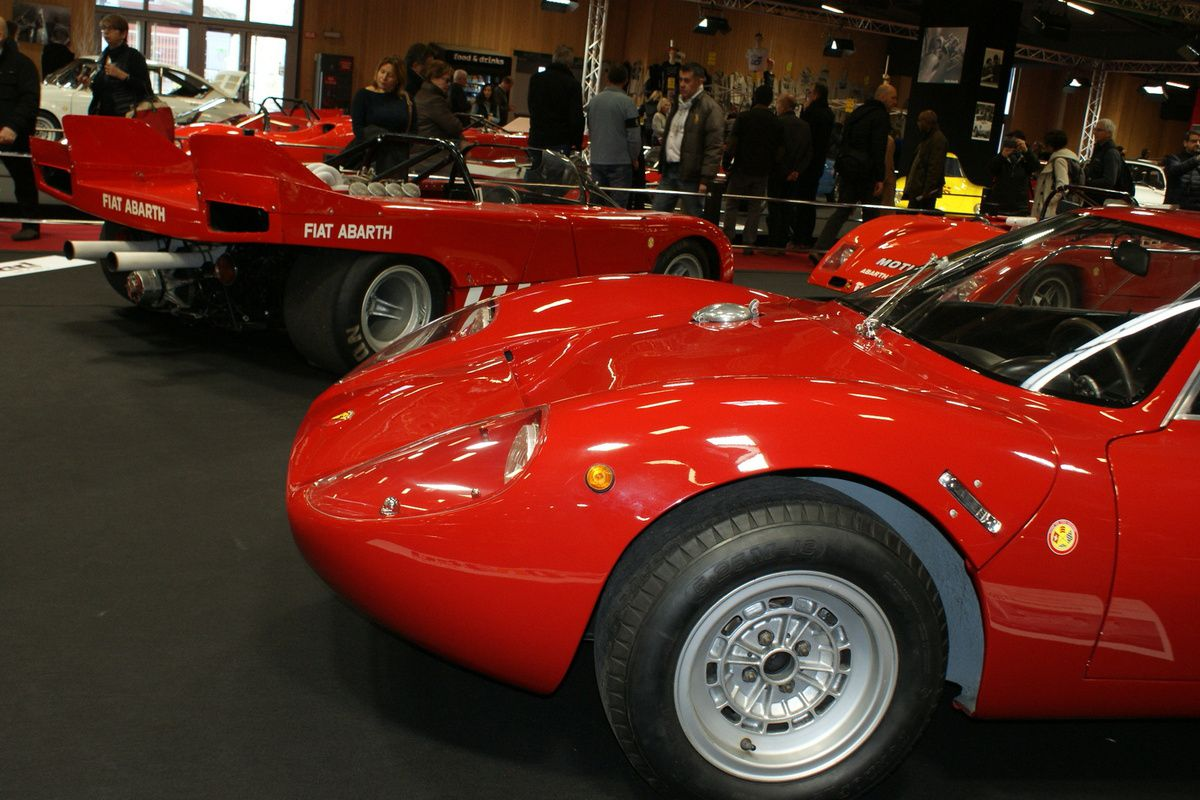 Sous le signe du SCORPION –ABARTH Salon RETROMOBILE Hall 3