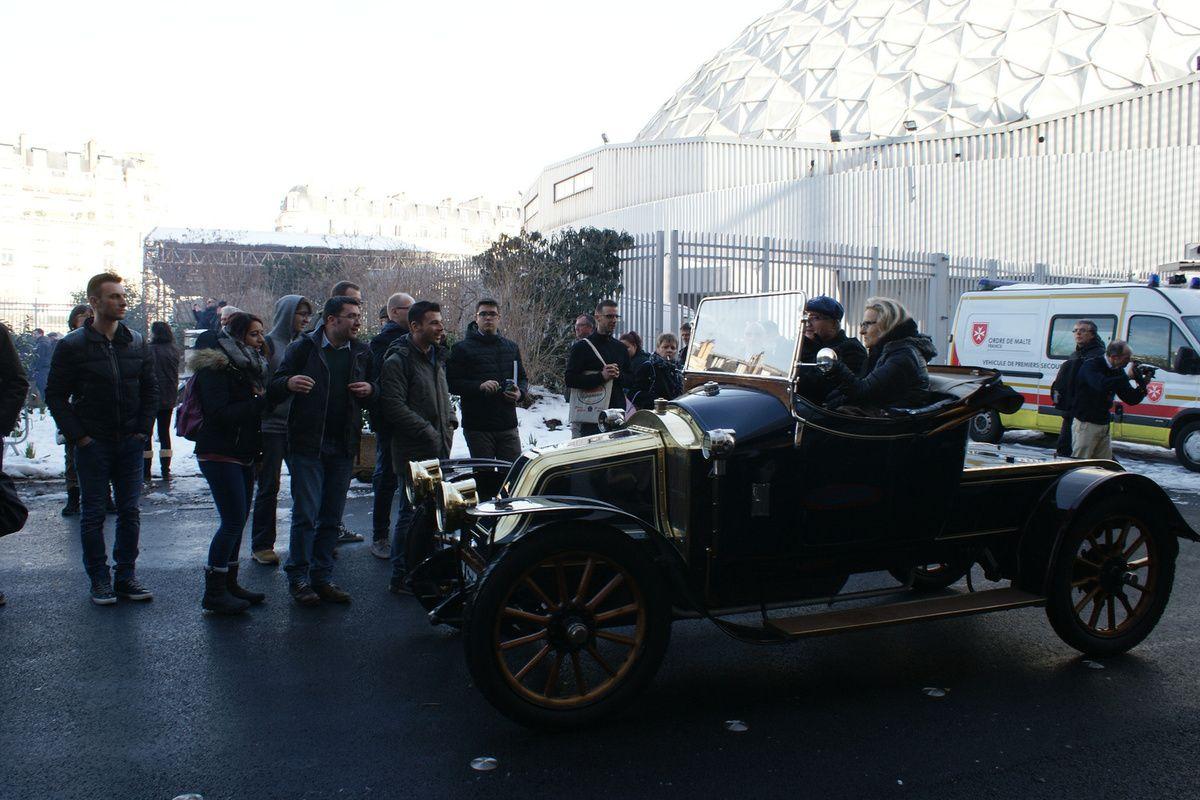 Le club LES TEUFS TEUFS  Veteran Car Club de France - RETROMOBILE 2018