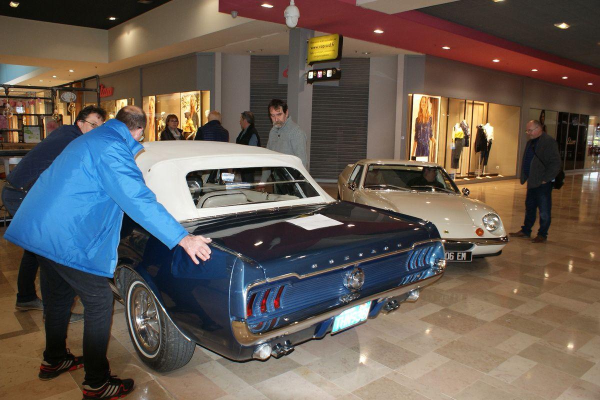 Exposition de voitures anciennes Du 5 au 10 MARS 2018 à CAP SUD - Avignon (84)