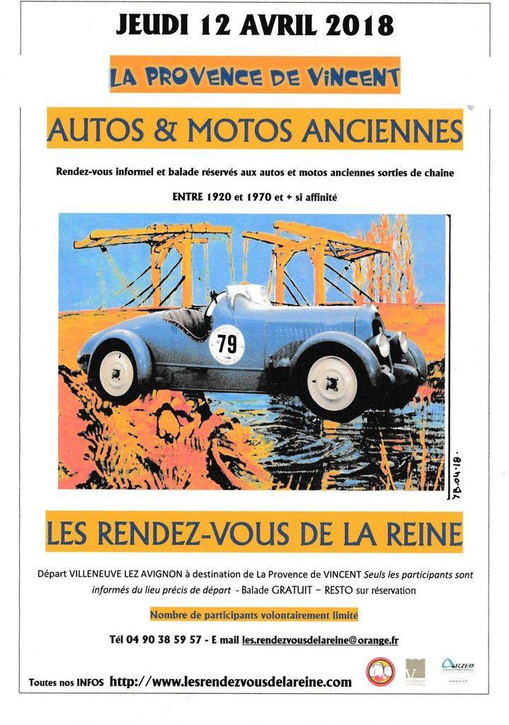 Les jeudis avec LES RENDEZ-VOUS DE LA REINE - La Provence de VINCENT