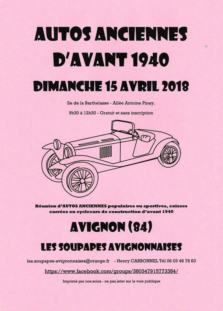 DIMANCHE 15 AVRIL 2018  LES RENDEZ-VOUS DE LA REINE