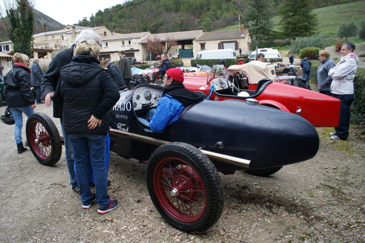 14 et 15 AVRIL  Rallye Cyclecars-Condorcet 2018