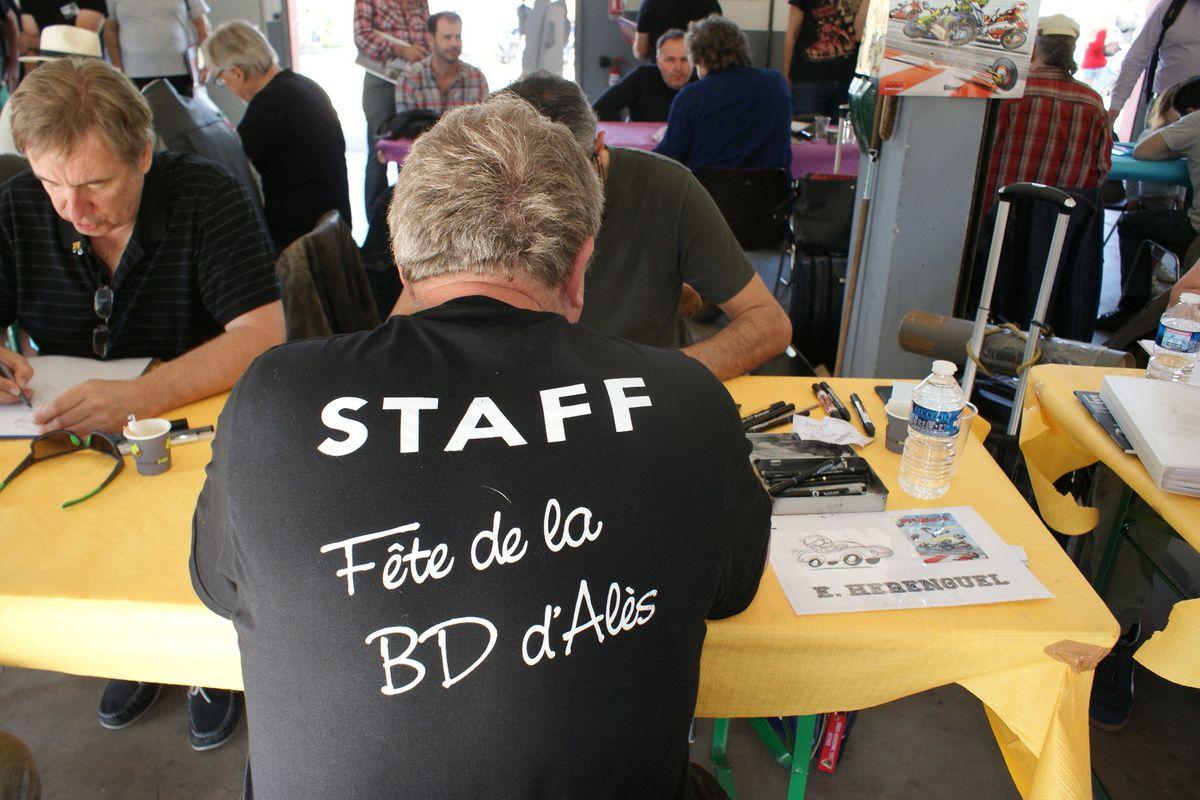 ALÈS FÊTE DE LA BD 2018 Les ARTISTES INVITÉS