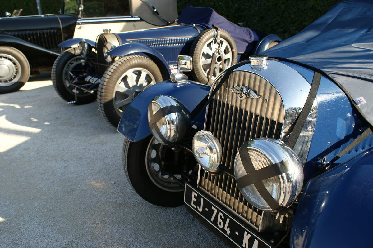 MORGAN 4-4 et  MORGAN Plus Four Flat Rad