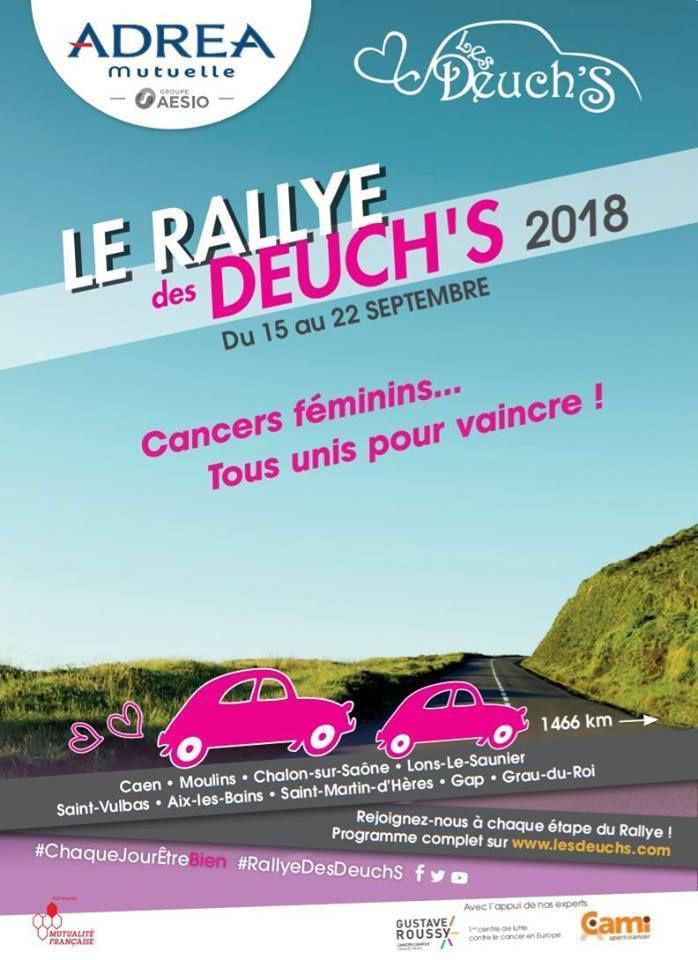 Vendredi 21 SEPTEMBRE 2018 LE RALLYE des DEUCH'S 2018 faisait une étape à Villeneuve lez Avignon (30)