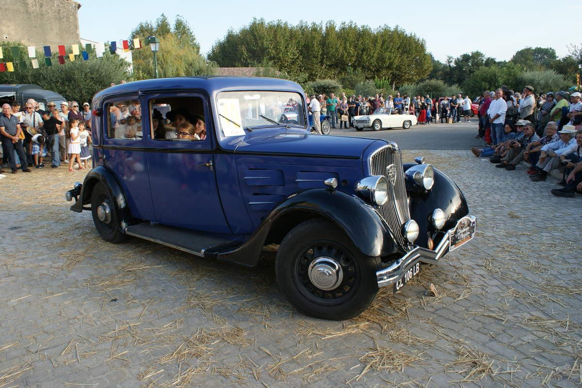 1998 – 2018 Fête du Terroir, Traditions vigneronnes et concours d'élégance de voitures anciennes à CHUSCLAN CHUSCLAN, retour sur la 20ème Vendanges de l'Histoire, c'était les 13 et 14 OCTOBRE 2018